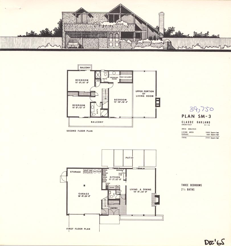 Ordinary Eichler Homes 7 Plan Sm