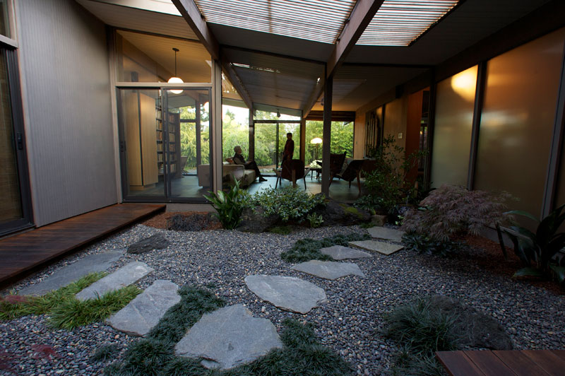 Eichler the house for Atrium homes