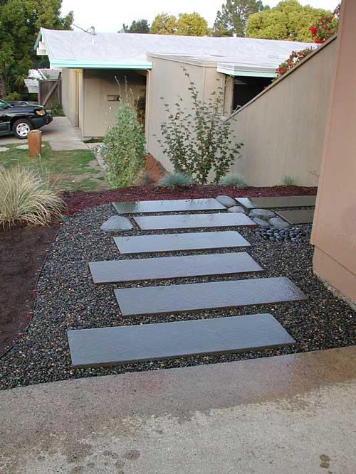 Eichler | Landscaping | Side Yards